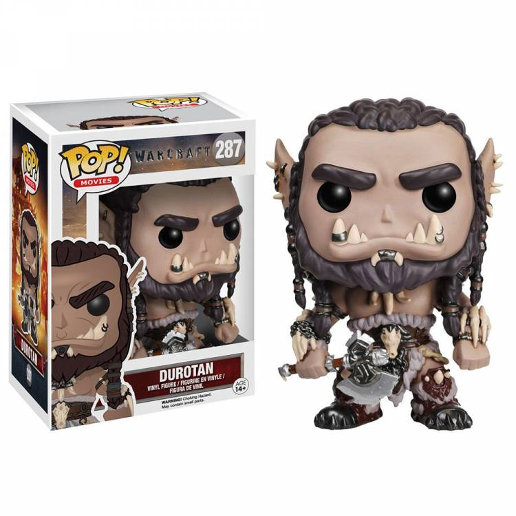 Фигурка POP Movies: Warcraft - Durotan