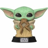Фигурка POP Star Wars: The Mandalorian - The Child with Frog (Baby Yoda)