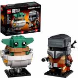 [ПРЕДЗАКАЗ] Конструктор BrickHeadz Star Wars - The Mandalorian & The Child 75317
