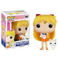 Фигурка POP Anime: Sailor Moon - Sailor Venus with Artemis