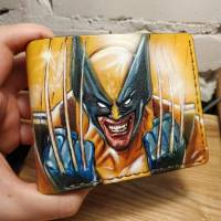 Кошелек Marvel - X-Men Wolverine Face Custom [Handmade]