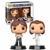 Набор фигурок POP Star Wars - Han and Leia 2-Pack