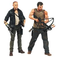 Набор фигурок The Walking Dead TV Series 4 Dixon Brother
