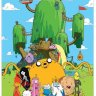Пазл Adventure Time with Bonus Poster