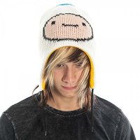 Шапка двусторонняя Adventure Time Reversible Laplander Hat