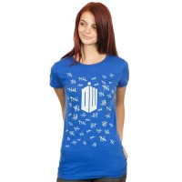 Футболка женская Doctor Who Tally Marks