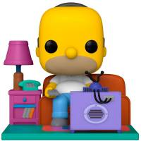 [ПРЕДЗАКАЗ] Фигурка POP Deluxe: The Simpsons - Homer Watching TV