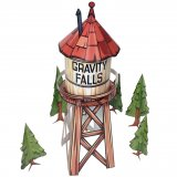 Конструктор Gravity Falls - Water Tower