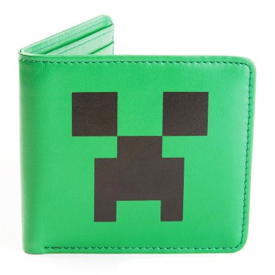 Кошелек Minecraft Creeper Face