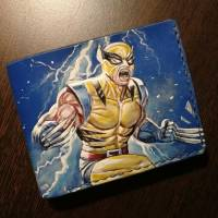 Кошелек Marvel - X-Men Wolverine Thunder Custom [Handmade]