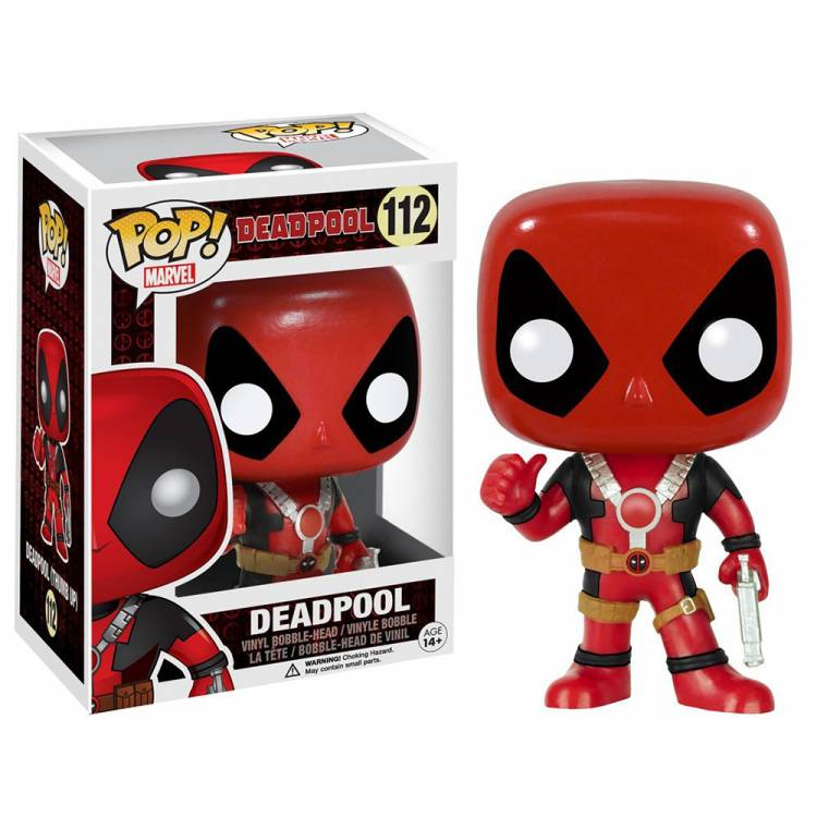 Фигурка POP Marvel: Deadpool Thumbs Up