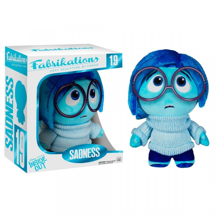 Мягкая игрушка Funko Fabrikations: Inside Out - Sadness