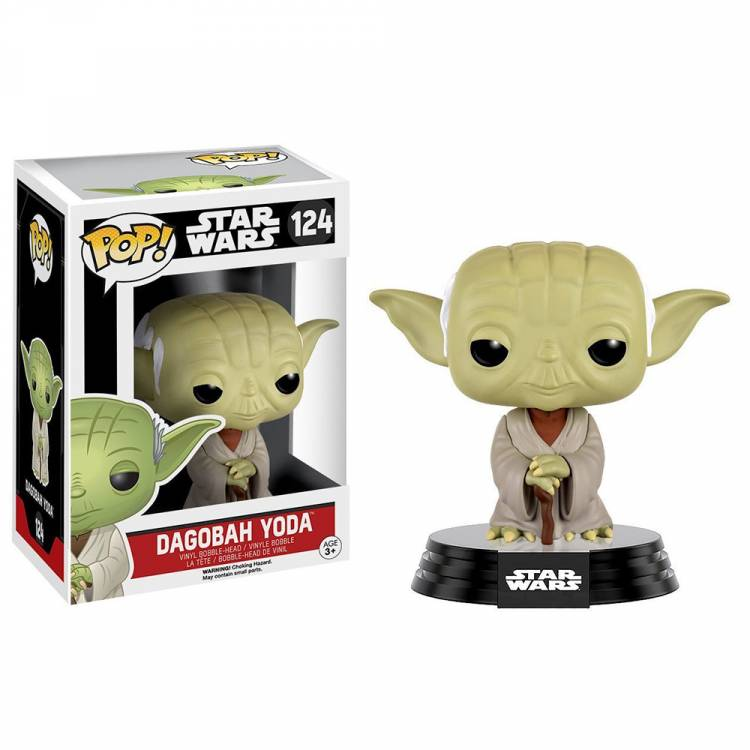 Фигурка POP Movies: Star Wars - Yoda (Dagobah)