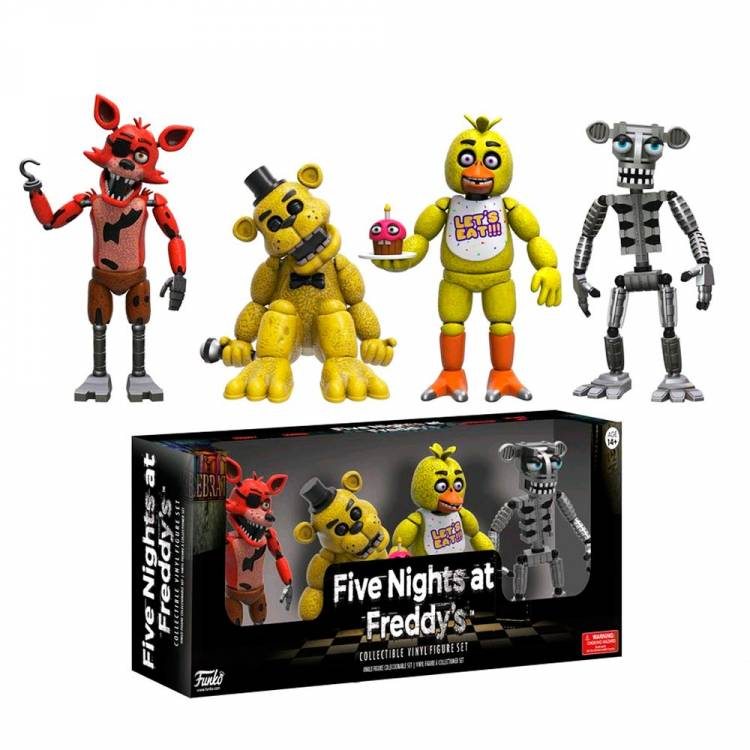 Набор фигурок Five Nights at Freddy's Set 1