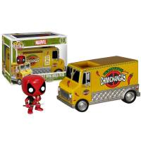 Набор фигурок POP Rides: Deadpool's Chimichanga Truck