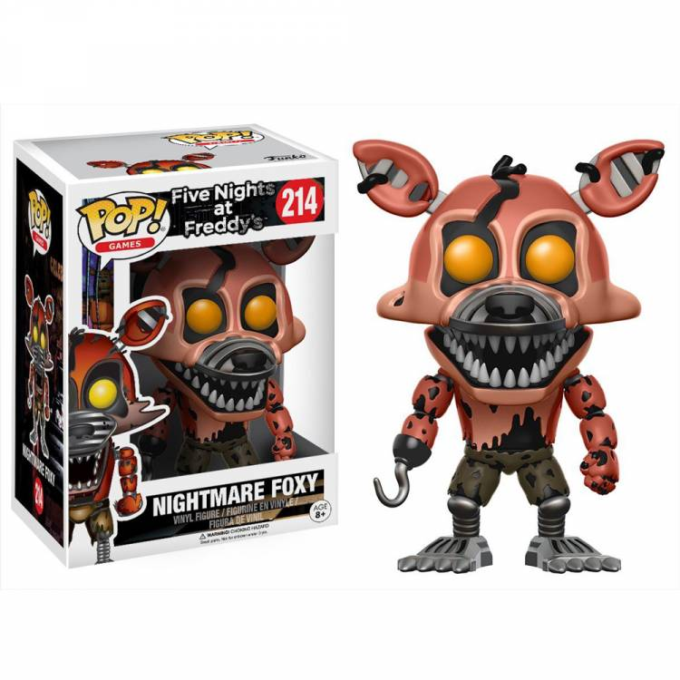 Фигурка POP Games: Five Nights at Freddy's - Nightmare Foxy