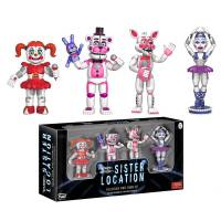 Набор фигурок Five Nights at Freddy's Sister Location Set 1
