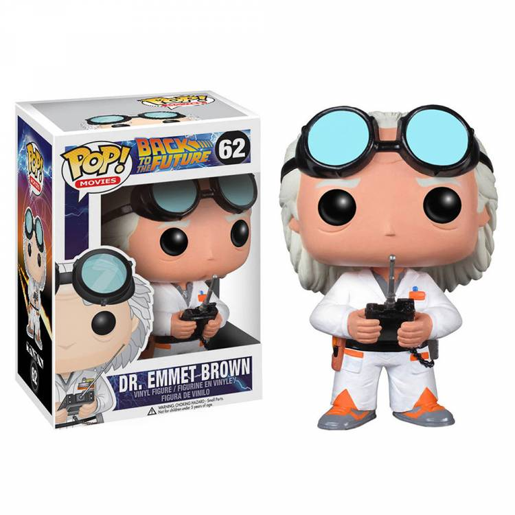Фигурка POP Movies: Back to The Future - Dr. Emmett Brown